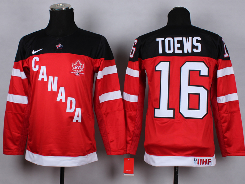 Youth NHL Olympic 16 toews red 2015 Jerseys
