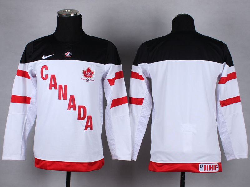 Youth NHL Olympic blank white 2015 Jerseys