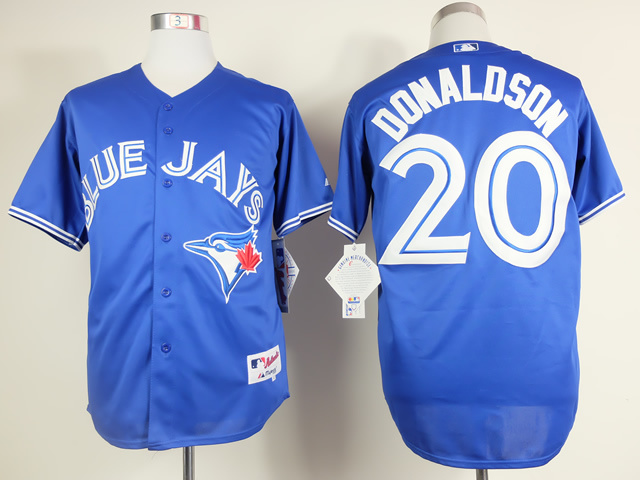 MLB Toronto Blue Jays 20 Donaldson Blue 2015 Jerseys