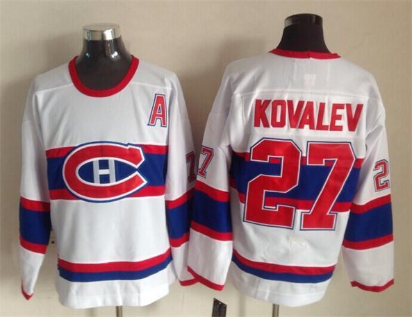 NHL Montreal Canadiens 27 Galchenyuk white 2015 Throwback Jerseys