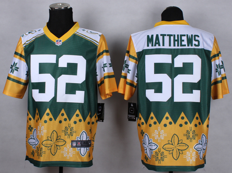 Green Bay Packers 52 Clay Matthews Green 2015 New Style Noble Fashion Elite Jerseys
