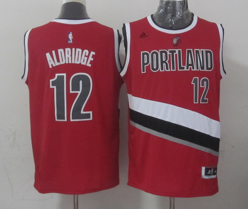 NBA Portland Trail Blazers 12 aldridge red 2015 Jerseys