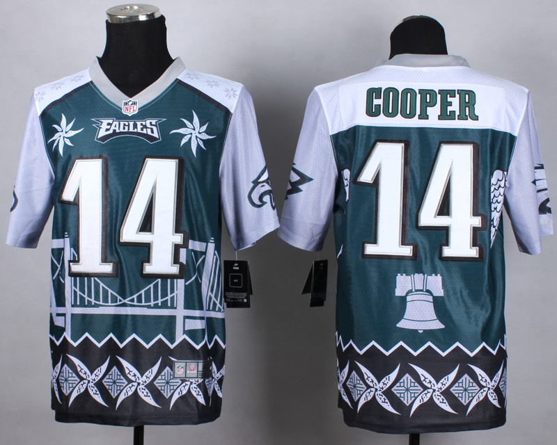 Philadelphia Eagles 14 Cooper green 2015 New Style Noble Fashion Elite Jerseys
