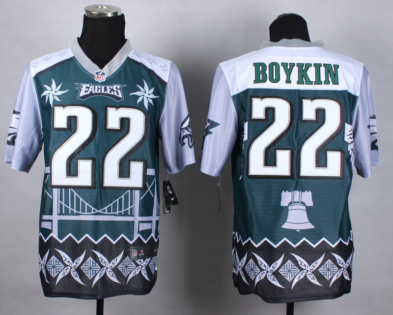 Philadelphia Eagles 22 boykin green 2015 New Style Noble Fashion Elite Jerseys