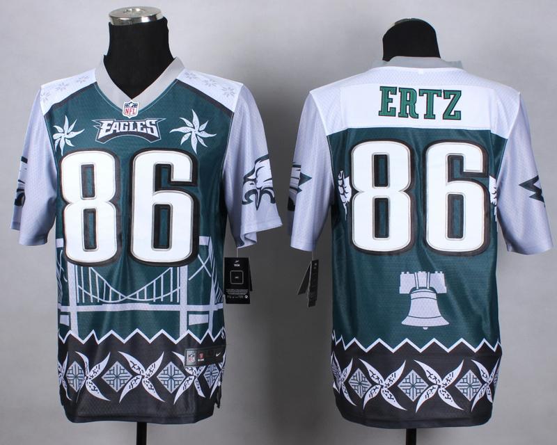 Philadelphia Eagles 86 ertz green 2015 New Style Noble Fashion Elite Jerseys