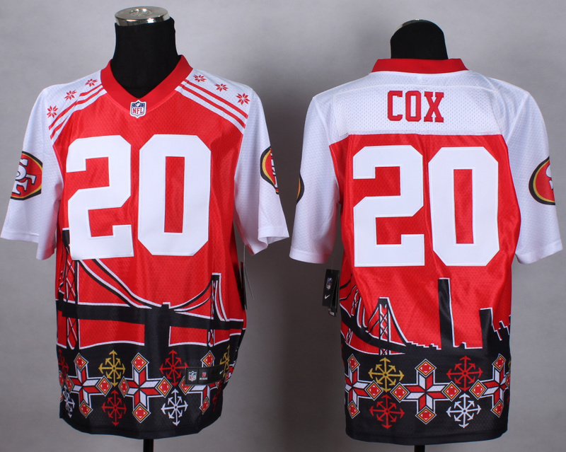 San Francisco 49ers 20 cox red 2015 New Style Noble Fashion Elite Jerseys