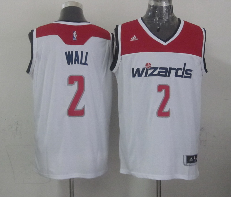 NBA Washington Wizards 2 wall white 2015 Jerseys