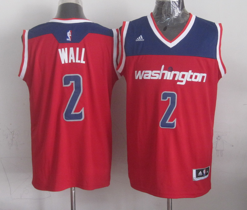NBA Washington Wizards 2 wall red 2015 Jerseys