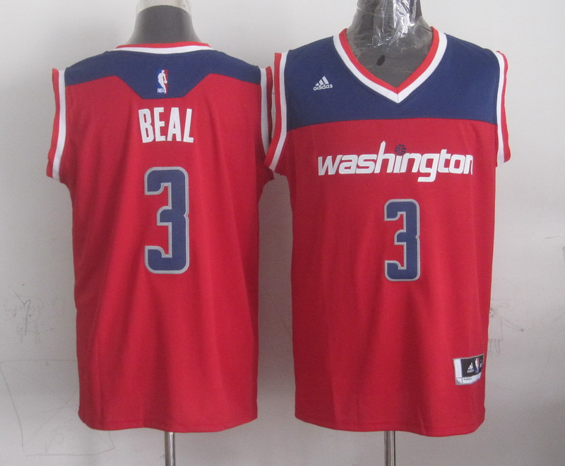 NBA Washington Wizards 3 beal red 2015 Jerseys