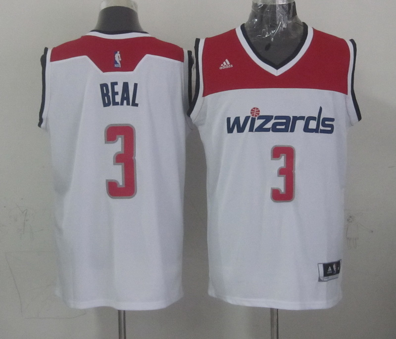 NBA Washington Wizards 3 beal white 2015 Jerseys