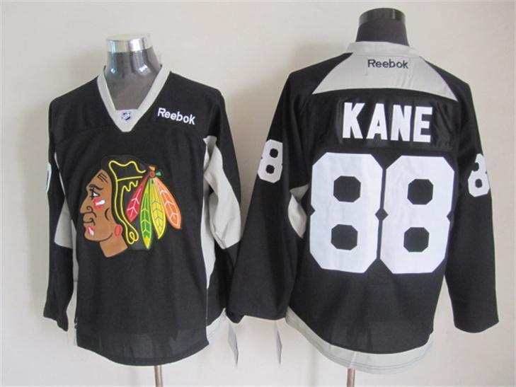 NHL Chicago Blackhawks 88 Patrick Kane BLACK 2015 Jerseys
