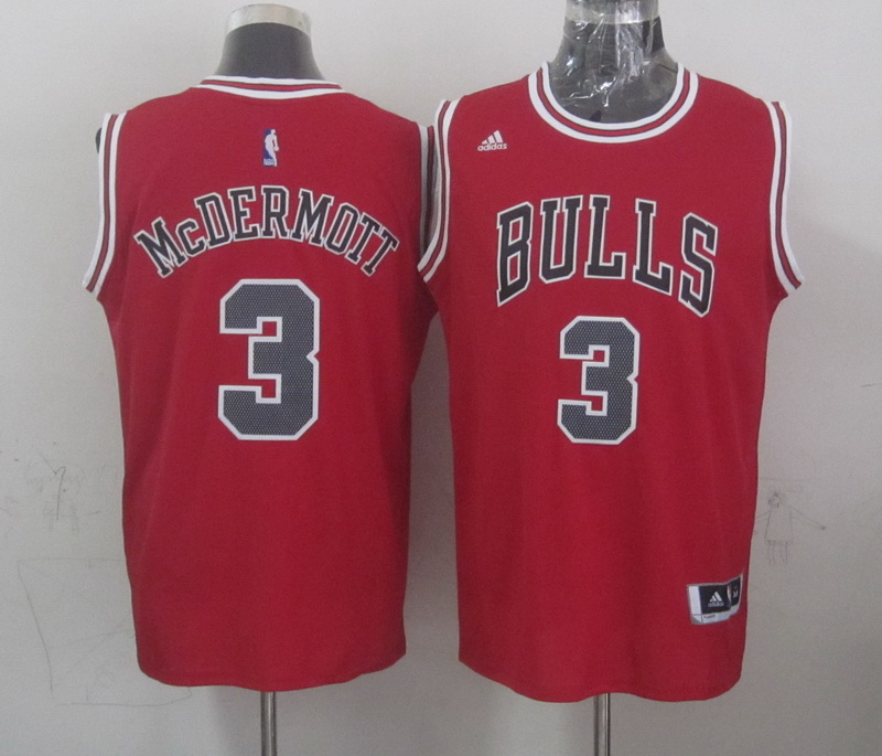 NBA Chicago Bulls 3 mcdermott red 2015 Jerseys