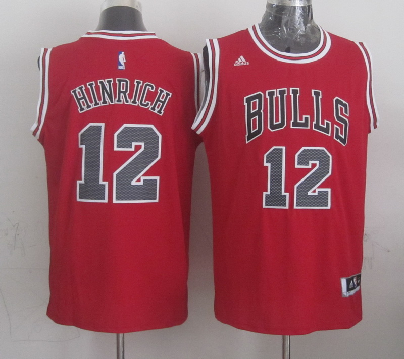 NBA Chicago Bulls 12 hinrich red 2015 Jerseys