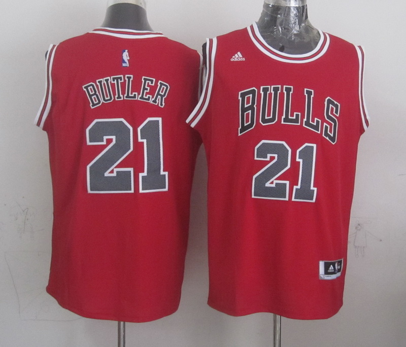 NBA Chicago Bulls 21 butler red 2015 Jerseys