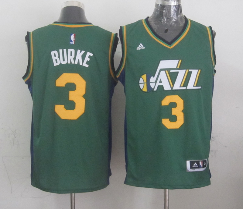 NBA Utah Jazz 3 burke green 2015 Jerseys