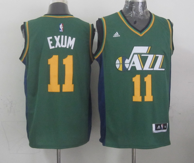 NBA Utah Jazz 11 exum green 2015 Jerseys