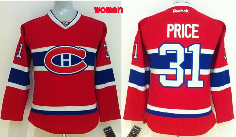 Womens NHL Montréal Canadiens 31 price Red 2015 Jerseys