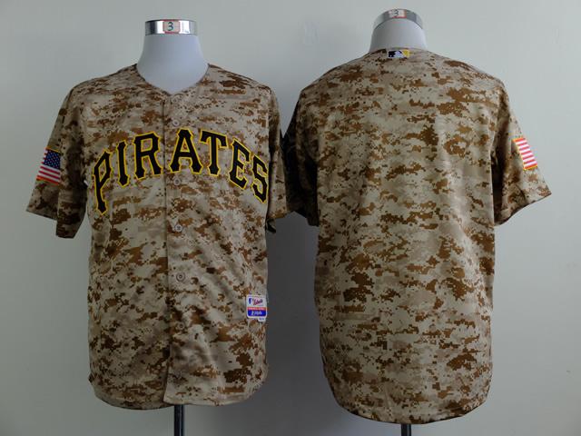 MLB Pittsburgh Pirates blank Camo 2015 Jerseys