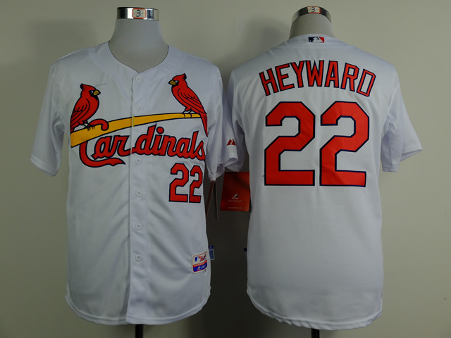 MLB St. Louis Cardinals 22 heyward white 2015 Jerseys