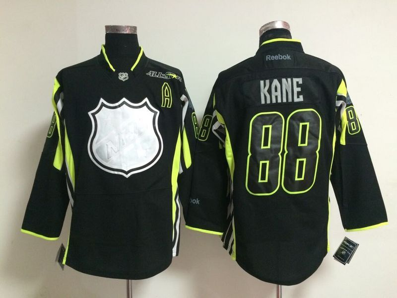 NHL 2015 All Star 88 kane black Jerseys