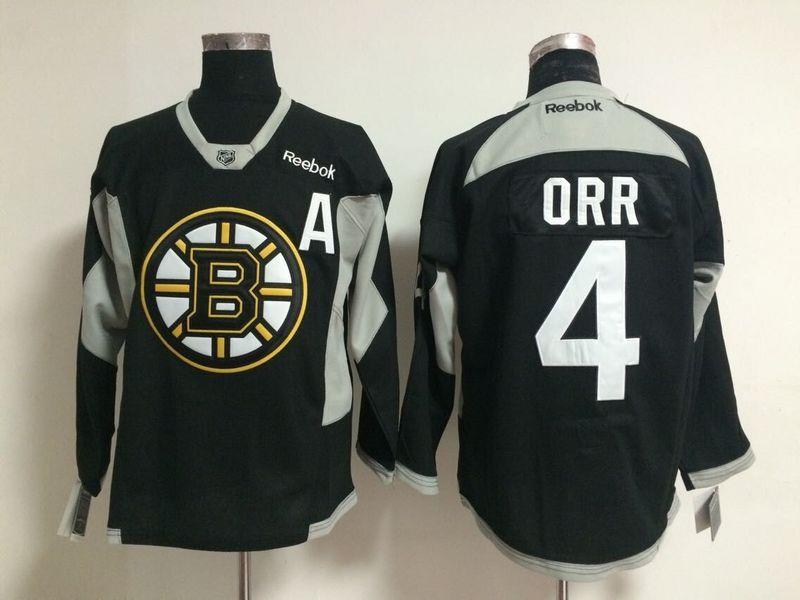 NHL Boston Bruins 4 Orr black 2015 Jerseys