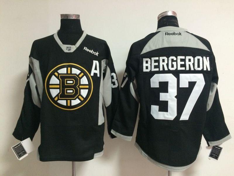NHL Boston Bruins 37 bergeron black 2015 Jerseys