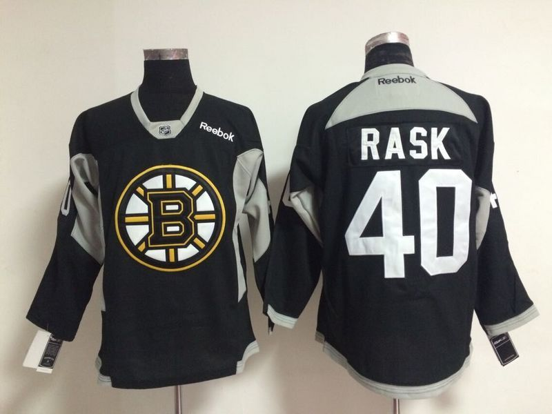 NHL Boston Bruins 40 rask black 2015 Jerseys