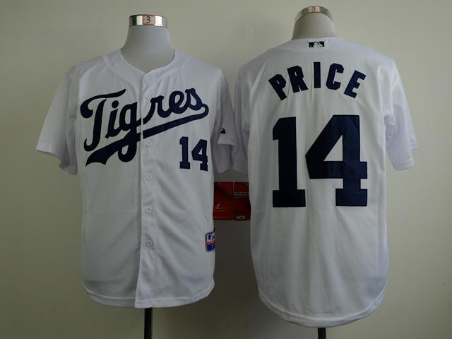 MLB Detroit Tigers 14 price white 2015 Jerseys