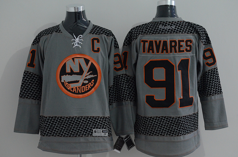 NHL New York Islanders 91 tavares grey 2015 Jerseys