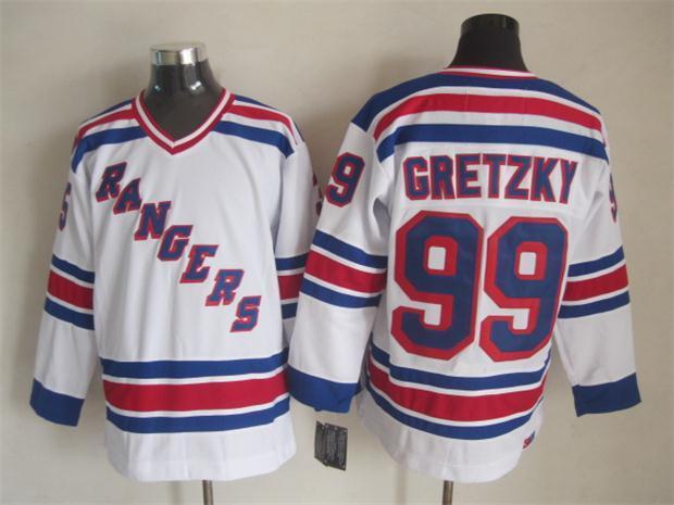NHL New York Rangers 99 gretzky white 2015 Jerseys