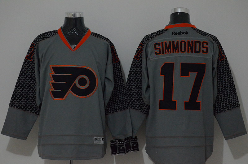 NHL Philadelphia Flyers 17 simmonds grey 2015 Jerseys