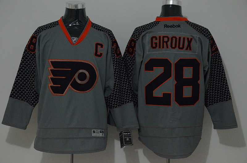 NHL Philadelphia Flyers 28 giroux grey 2015 Jerseys