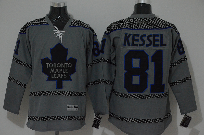 NHL Toronto Maple Leafs 81 kessel grey 2015 Jerseys