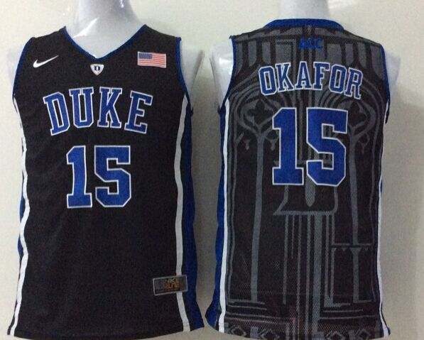 NCAA Duke Blue Devils 15 okafor black 2015 Jerseys