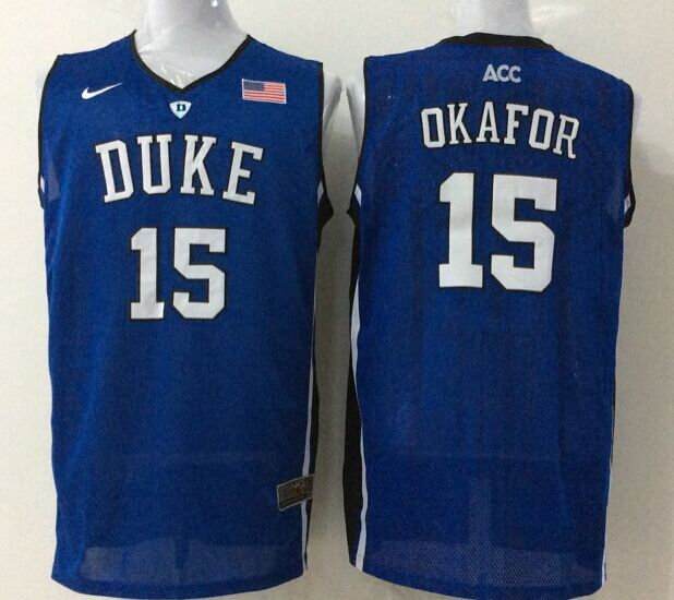 NCAA Duke Blue Devils 15 okafor blue 2015 Jerseys
