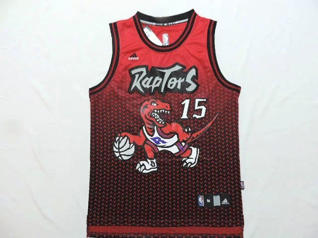 NBA Toronto Raptors 15 carter red Drift Fashion II 2015 Jerseys