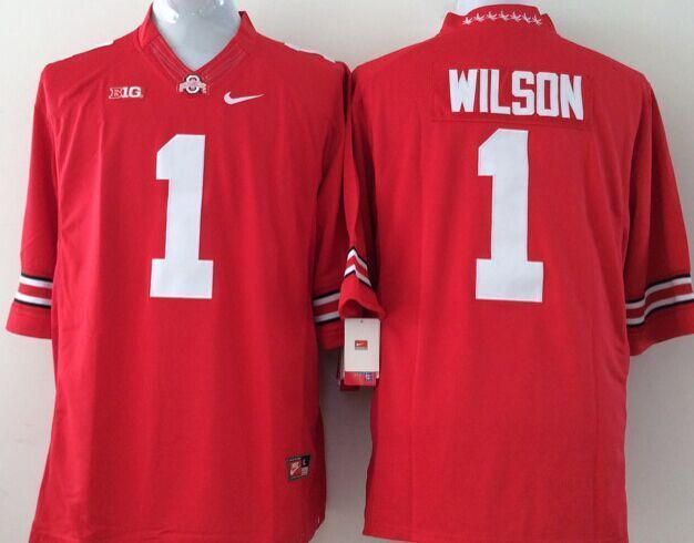 Youth NCAA Ohio State Buckeyes 1 Wilson red Jerseys