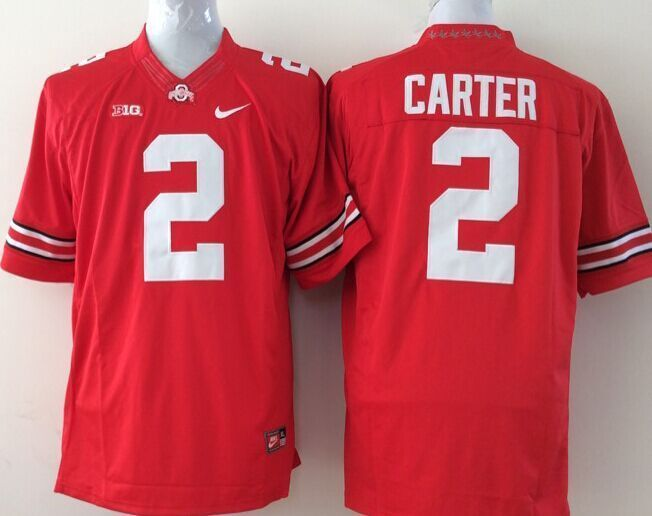 Youth NCAA Ohio State Buckeyes 2 carter red Jerseys