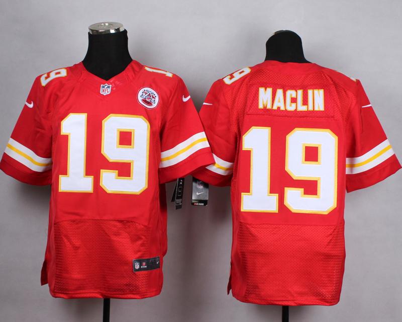 Kansas City Chiefs 19 maclin red Men Nike Elite Jerseys