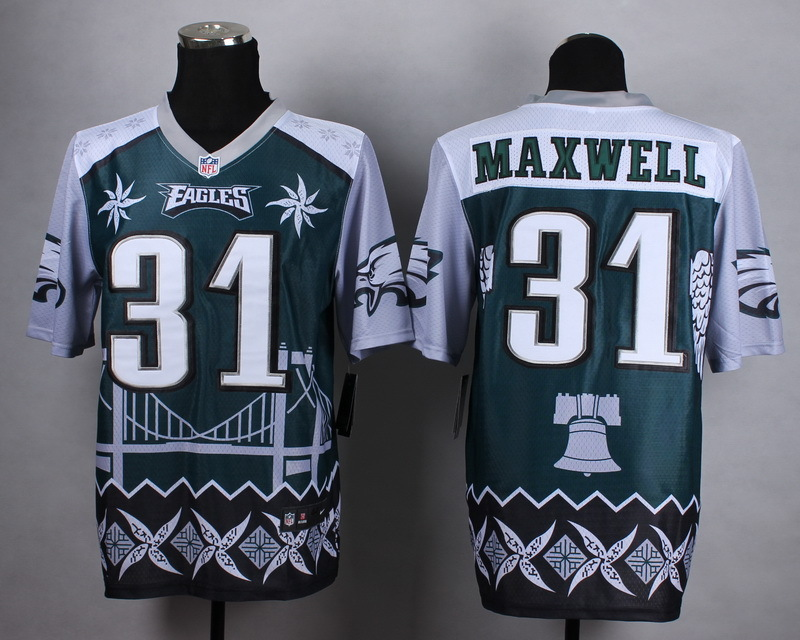 Philadelphia Eagles 31 maxwell green 2015 New Style Noble Fashion Elite Jerseys
