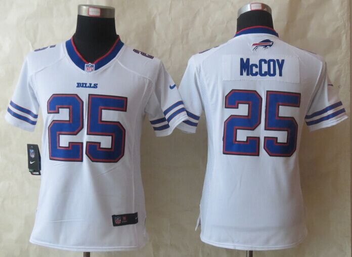 Womens Buffalo Bills 25 McCoy White New Nike Limited 2015 Jerseys