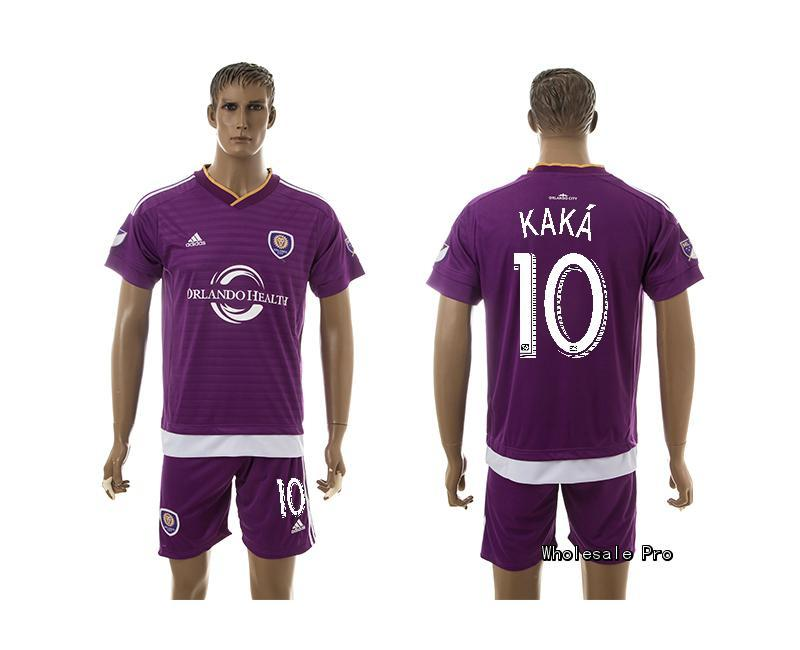 2015 Orlando City 10 KAKA Home Purple Soccer Jersey