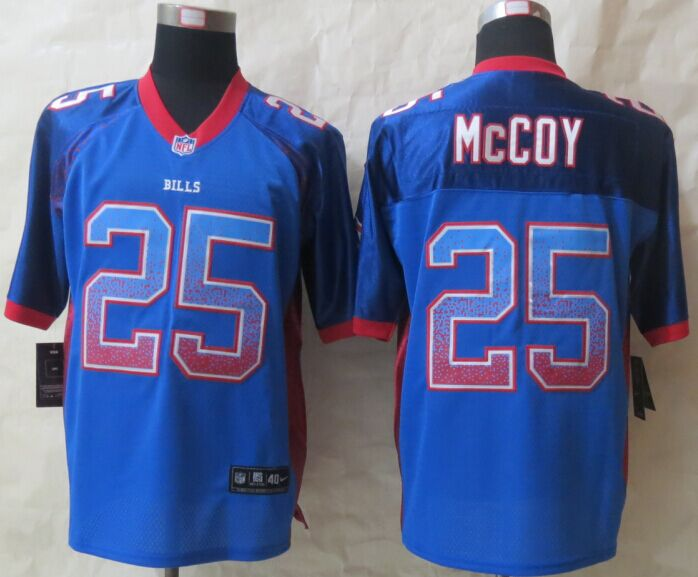 Buffalo Bills 25 McCoy Drift Fashion Blue New Nike Elite 2015 Jerseys