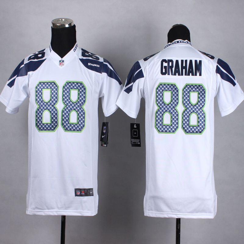 Youth Seattle Seahawks 88 graham White 2015 Nike Jerseys