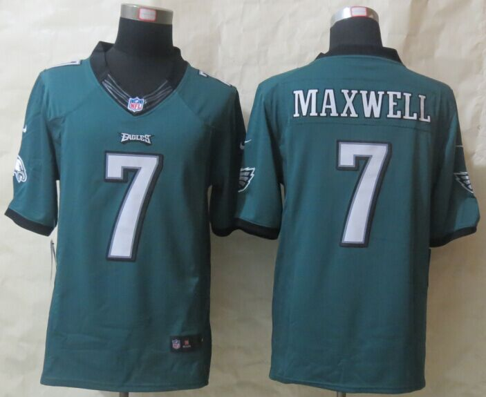 Philadelphia Eagles 7 Maxwell Green Nike Limited Jerseys