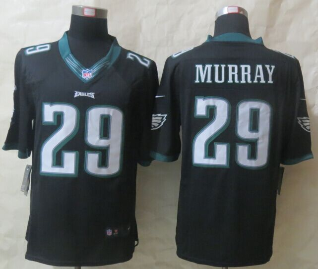 Philadelphia Eagles 29 Murray Black New Nike Limited Jerseys