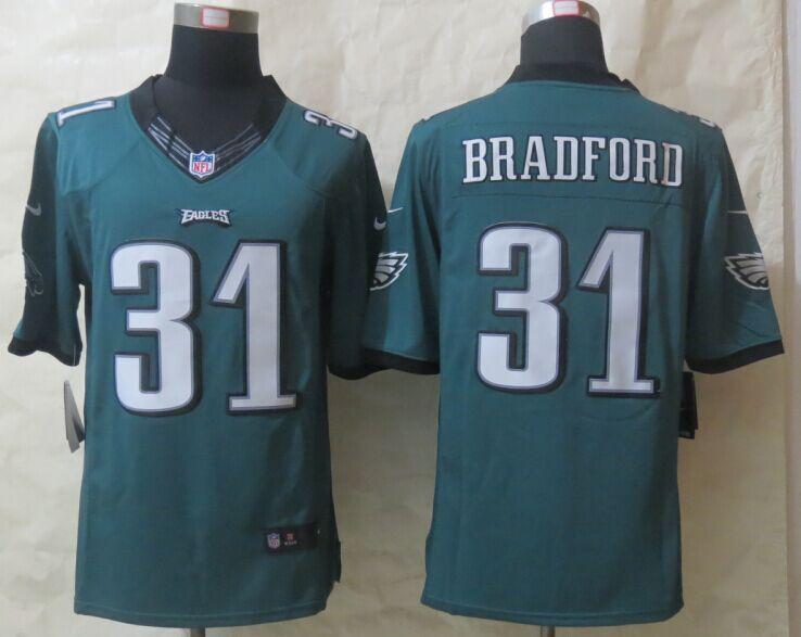 Philadelphia Eagles 31 Bradford Green Nike Limited Jerseys