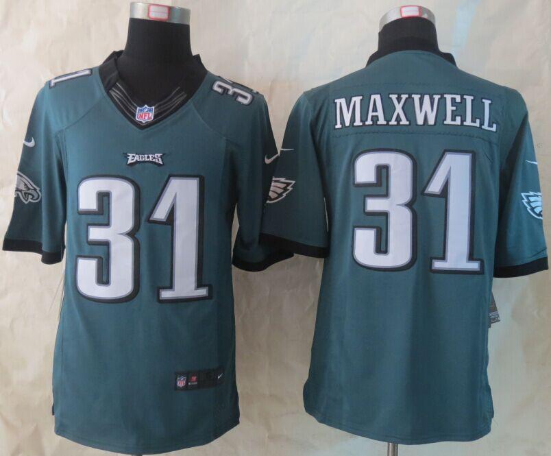 Philadelphia Eagles 31 Maxwell Green Nike Limited Jerseys