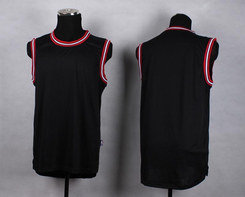 NBA Chicago Bulls Blank black New Jersey