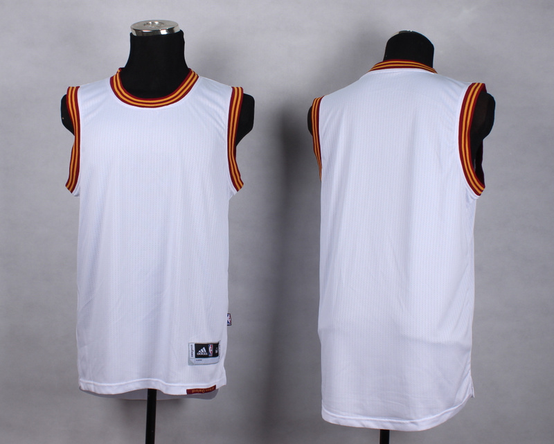 NBA Cleveland Cavaliers Blank white New Jersey